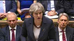 News video: No ministers or royal family to attend World Cup in Russia, says British PM Theresa May