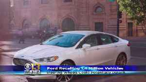 News video: Ford Recalls 1.4 Million Fusions, MKZs Because Steering Wheel Can Come Off