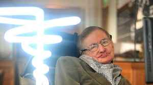 News video: Stephen Hawking Has Died At 76