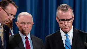 News video: Sessions to Fire Former FBI Deputy Director Andrew McCabe?