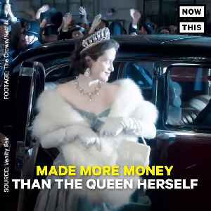 News video: Netflix Show 'The Crown' Paid Claire Foy Less Than Her Male Co-Star Matt Smith