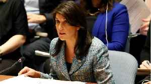 News video: Nikki Haley Tells U.N. Russia Responsible For Chemical Attack