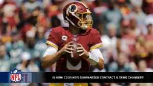 News video: Will Kirk Cousins's guaranteed contract change NFL free agency as we know it?