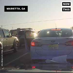 News video: Police Officer is Kidnapped in Car During Routine Traffic Stop