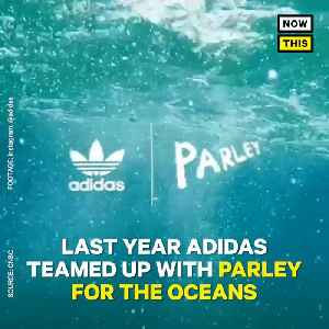 News video: Adidas Sold 1 Million Shoes Made From Recycled Ocean Plastic