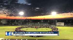 High school students walk out of class in Lee county [Video]