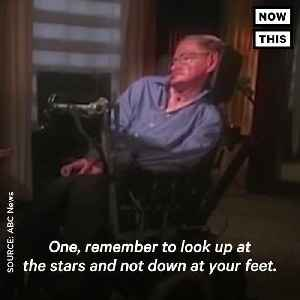 News video: Stephen Hawking's Legacy Lives On In His Immortal Quotes