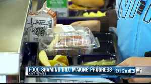 News video: Food shaming bill making progress in Iowa Senate