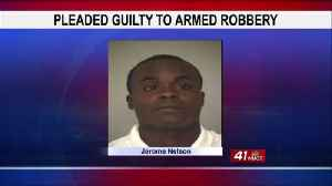 News video: Macon man sentenced to 20 years for Family Dollar robbery