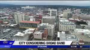News video: City considering public broad band network