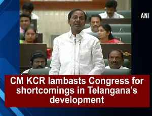 News video: CM KCR lambasts Congress for shortcomings in Telangana's development
