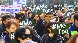 News video: Once harassed herself, South Korean lawyer fights for #MeToo
