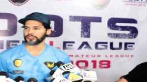 News video: Roots Premier League Spring Season 2018 with Dino morea, Mandira Bedi