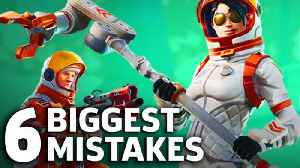 News video: Fortnite - 6 Common Mistakes People Make
