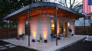 News video: Texas startup can 3D-print cheap houses in less than 24 hours