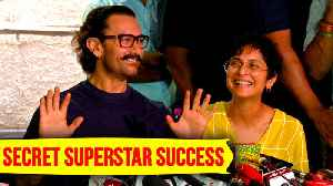 News video: Aamir Khan REACTS On Secret Superstar Success In China On His Birthday