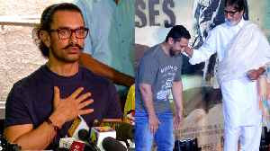 News video: Aamir Khan Praises Amitabh Bachchan's Work In Thugs Of Hindostan