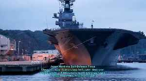 News video: Features Technology Aircraft Carrier Destroyer Japan and China