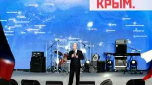 News video: On the campaign trail with Putin in Crimea