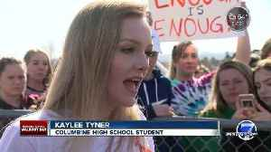 News video: Denver-area students join nationwide walkout over gun violence