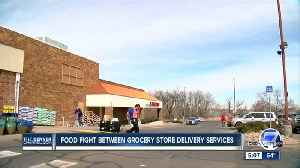 News video: Online grocery delivery rises in popularity