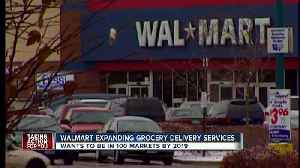 News video: Walmart says it will add grocery delivery by the end of the year