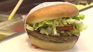 News video: 'Impossible burger' arrives at Las Vegas Fatburger locations
