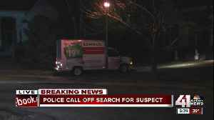 News video: Police search for suspect in truck theft, police ramming