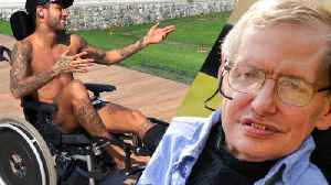 News video: Neymar Jr TROLLS Stephen Hawking's After Death   WTF!