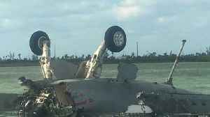 News video: Boat Seen Approaching Crash Site of US F/A-18 Jet Crash that Killed Both Crew Members