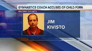 News video: Gymnastics coach charged with child pornography
