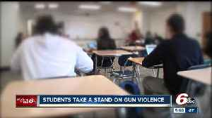 News video: Hundreds of Indianapolis Public School students protest gun violence, remember victims during National Walkout