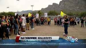 News video: Students walkout of Canyon Del Oro High School