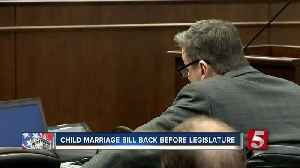 News video: Child Marriage Bill Passes Subcommittee