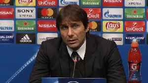 News video: Conte star struck by Messi after memorable performance