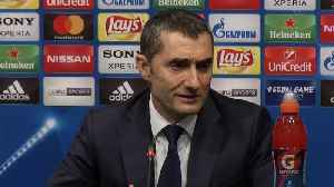 News video: Valverde says Messi shines on big occasions