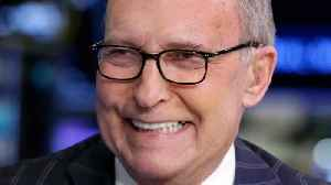News video: From Day One, Kudlow's Not On The Same Page As Trump