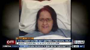 News video: 1 October survivor not seeing any victim funds