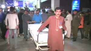 News video: Suicide blast targeting police claims lives in Pakistan