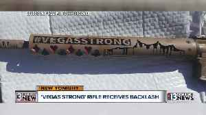 News video: Police honor guard raffles guns with 'Vegas Strong' phrase