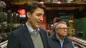 News video: Canada's Trudeau sees a