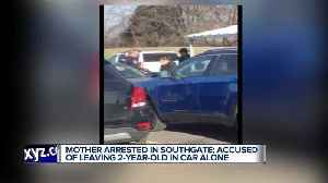 News video: Mom arrested for leaving toddler in car while shopping at metro Detroit Sam's Club