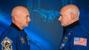 News video: DNA of Astronaut No Longer Matches His Twin After He Spends a Year in Space