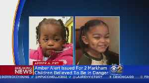 News video: Amber Alert Issued For Two Markham Toddlers