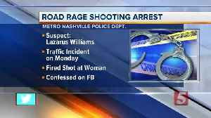 News video: Police: Man Admits To Road Rage Shooting In Facebook Video