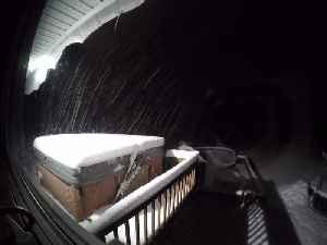 News video: Time lapse captures 21 hour snow storm in New Hampshire