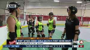 News video: Roller Derby comes to Fort Myers on St. Patrick's Day - 7am live report