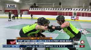 News video: Roller Derby comes to Fort Myers on St. Patrick's Day - 8am live report