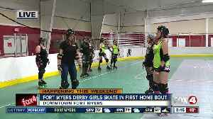 News video: Roller Derby comes to Fort Myers on St. Patrick's Day - 8:30am live report