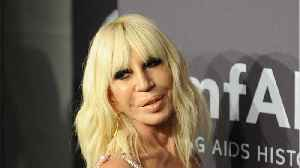News video: Donatella Announces That Versace Is Fur-Free